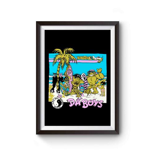 Surf T&c Da Boys 80s Poster