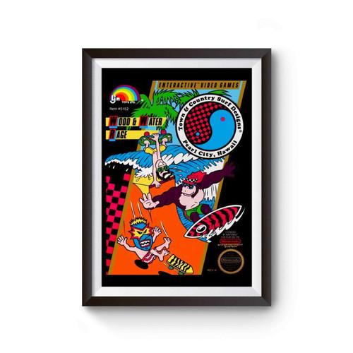T & C Surf Design Poster
