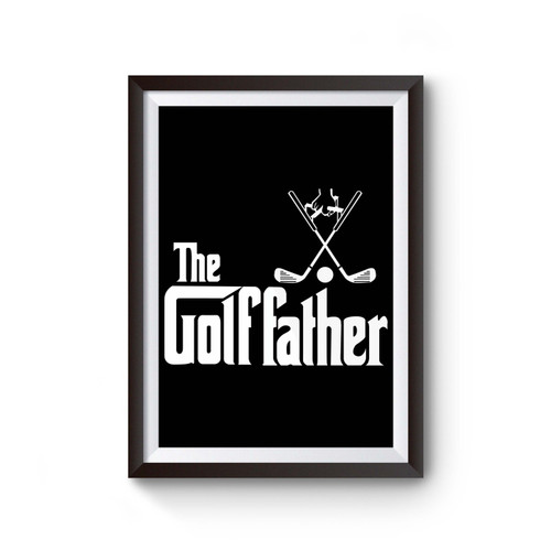 The Golf Father Poster