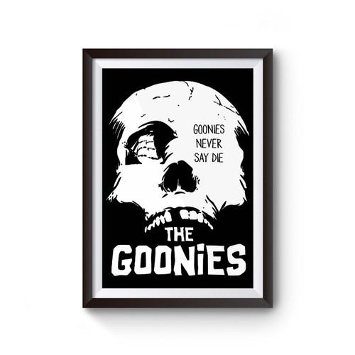 The Goonies Never Say Die Poster