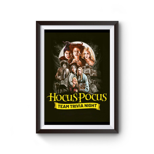 The Hocus Pocus Halloween Poster