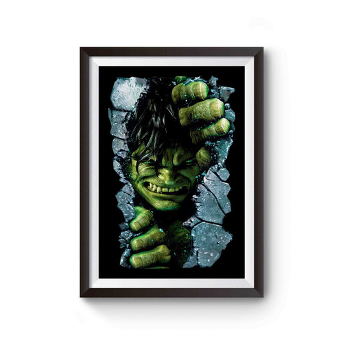 The Incredible Hulk Inspired Poster