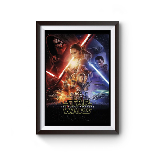 The Force Awakens Theatrical One Sheet Star Wars Poster
