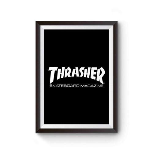 Thrasher Logo Skateboarding Magazine Skate Poster
