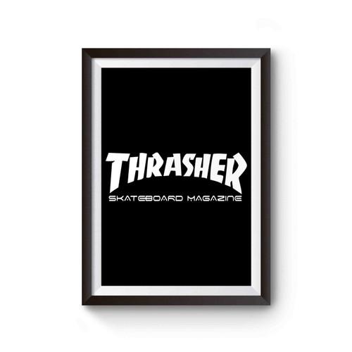 Thrasher Skate Magazine Skate Skateboard Poster