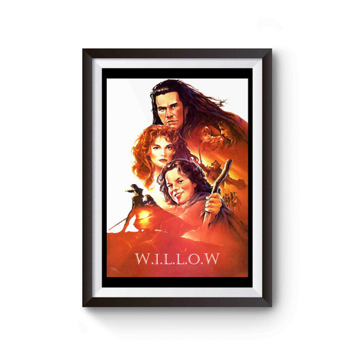 Willow Movie Poster Poster