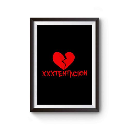 Xxxtentacion Logo Rapper Poster
