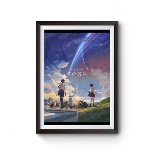 Your Name Kimi No Na Wa Inspired Poster
