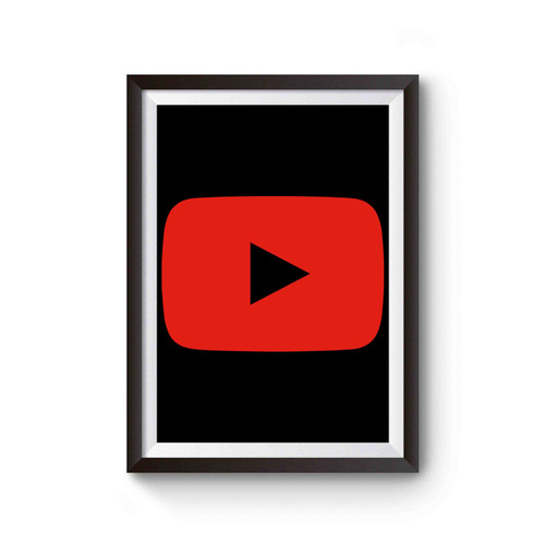 Youtube Play Button Poster
