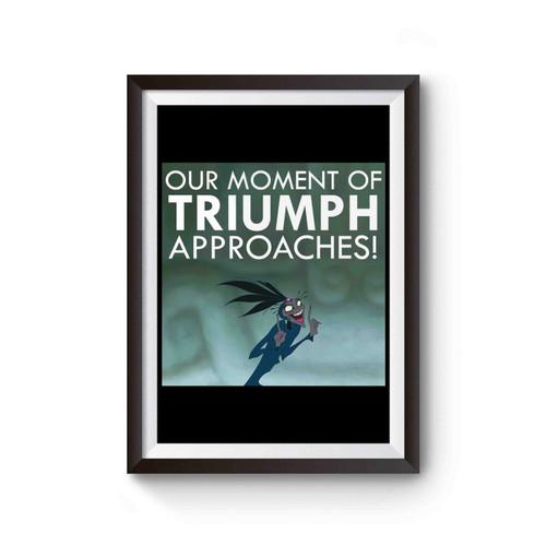 Yzma Triumph Emperor's New Groove Poster