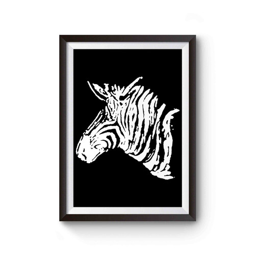 Zebra Animal Wildlife Africa Poster
