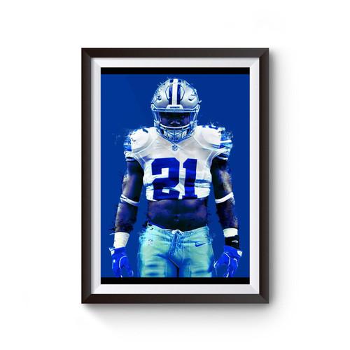 Zeke Who Cowboys Poster