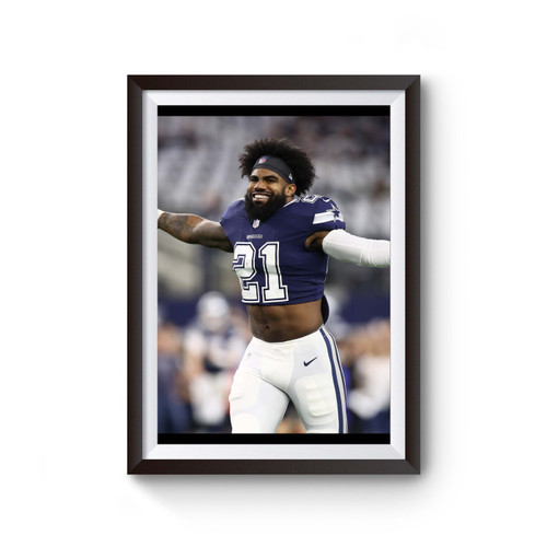 Zeke Who Dallas Cowboys Poster