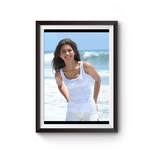 Zendaya Hits The Beach Poster