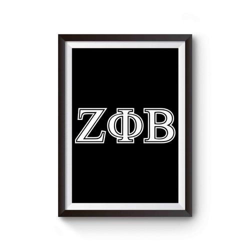 Zeta Phi Beta Poster