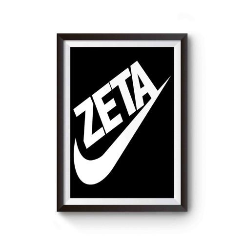 Zeta Phi Beta Sorority 1920 Swoosh Vert Poster