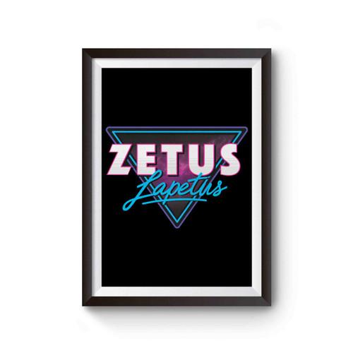 Zetus Lapetus Poster