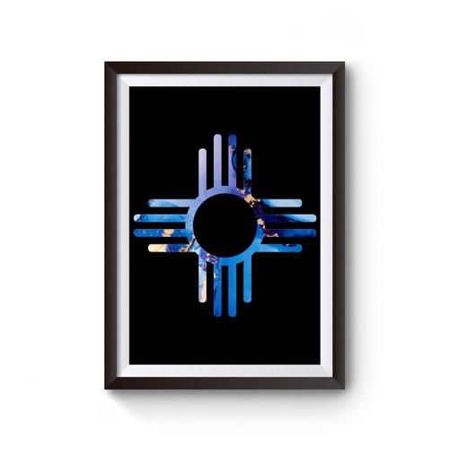 Zia Symbol Poster