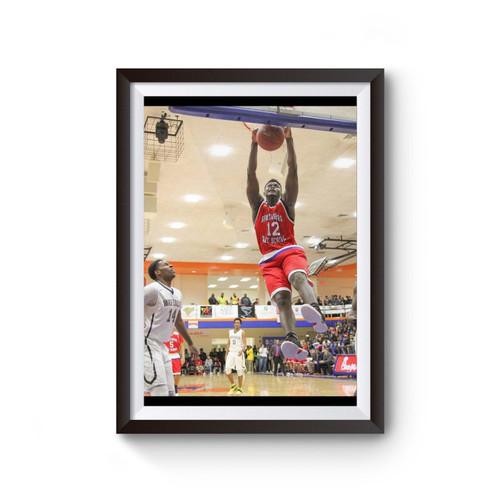 Zion Williamson Basketball Poster