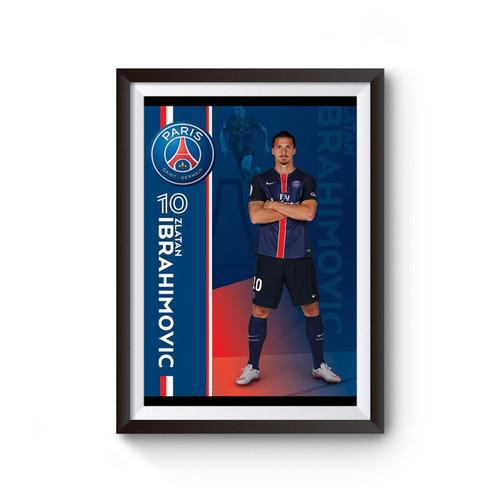 Zlatan Ibrahimovic 10 Poster