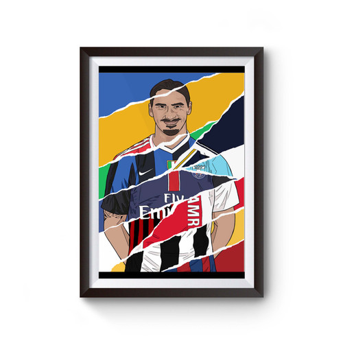 Zlatan Ibrahimovic All Team Poster