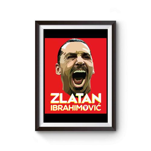 Zlatan Ibrahimovic Manchester United Poster