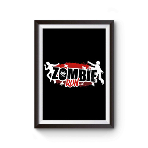 Zombie Run Logo Poster
