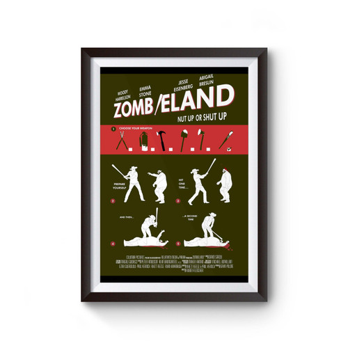 Zombieland Double Tap Choose Your Weapon Poster