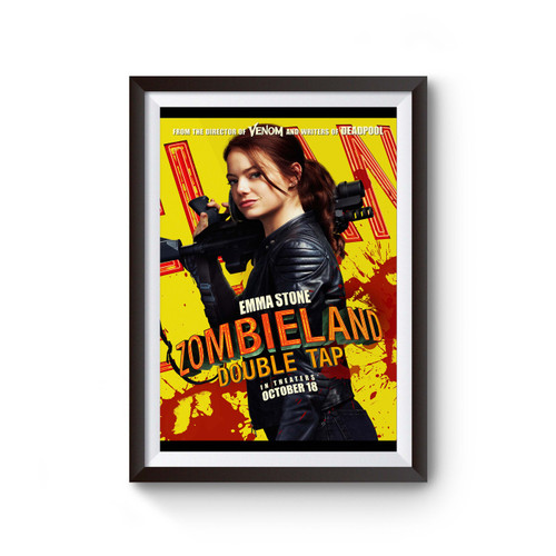 Zombieland Double Tap Emma Stone Poster