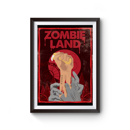 Zombieland Double Tap Hand Poster