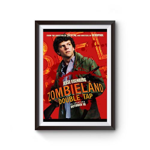 Zombieland Double Tap Jesse Eisenberg Poster