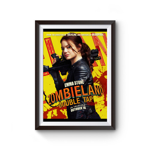 Zombieland Double Tap Movie Poster