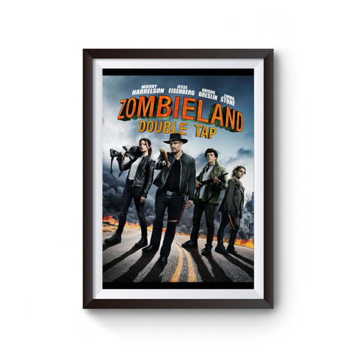 Zombieland Double Tap Nut Up Or Shut Up Poster