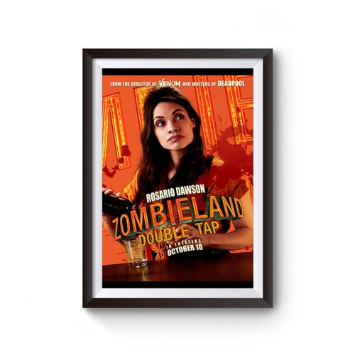 Zombieland Double Tap Rosario Dawson Poster