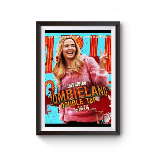 Zombieland Double Tap Zoey Deutch Poster