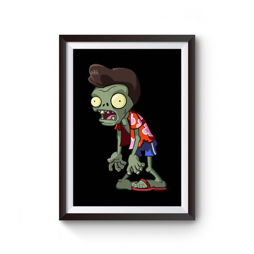 Zombie Halloween Poster
