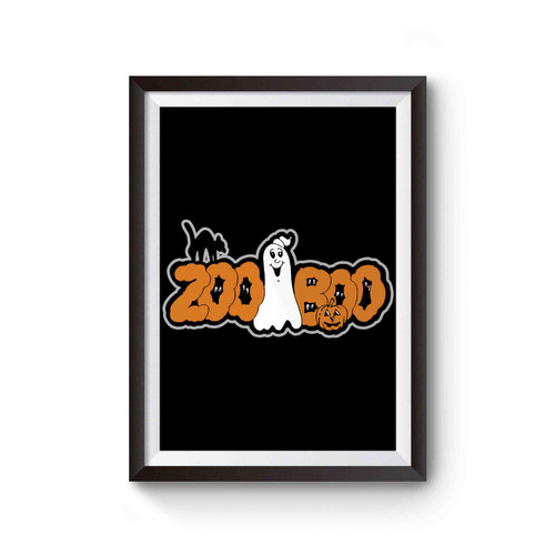Zoo Boo Halloween Day Party Poster