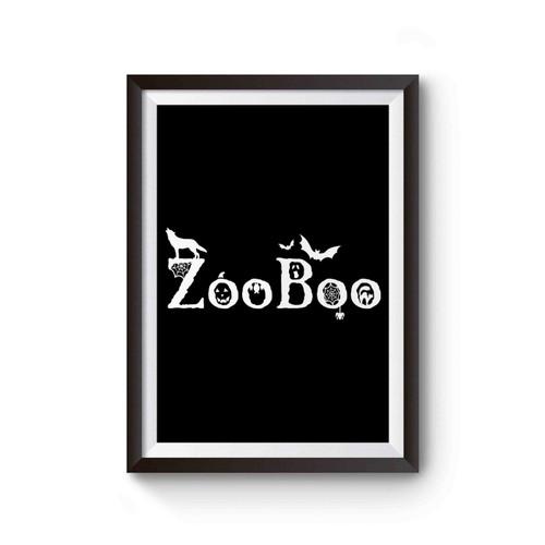 Zooboo Halloween Logo Poster