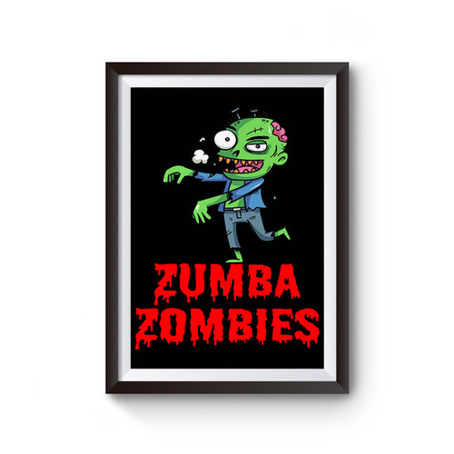 Zumba Zombies Poster