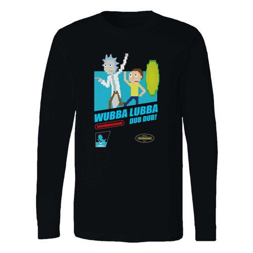 This classic fit Wubba Lubba Dub Dub Rick & Morty Long Sleeve Shirt is casually elegant and very comfortable. With fine quality print to make one stand out, it's a perfect fit for every occasion.