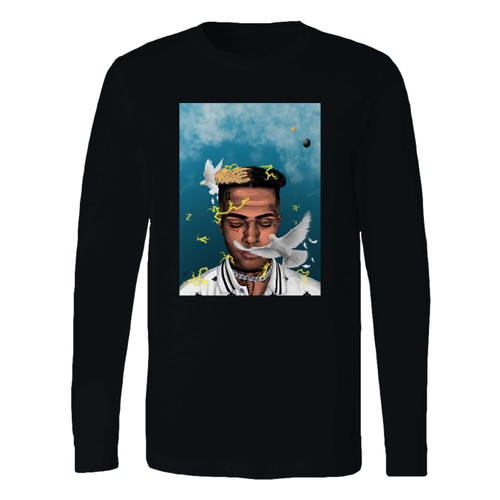 This classic fit Xxxtentacion Remembrance Long Sleeve Shirt is casually elegant and very comfortable. With fine quality print to make one stand out, it's a perfect fit for every occasion.