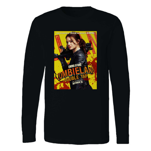 This classic fit Zombieland Double Tap Movie Long Sleeve Shirt is casually elegant and very comfortable. With fine quality print to make one stand out, it's a perfect fit for every occasion.