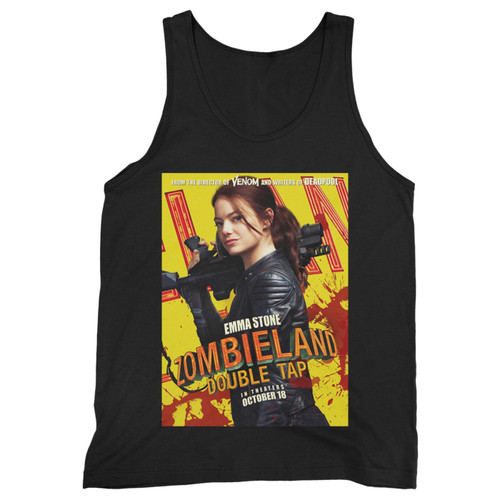Our cotton Zombieland Double Tap Movie Men Tank Top is perfect for those intense workouts in the gym, at practice or pickup games.