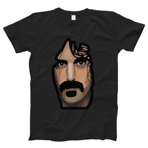 Frank Zappa Vektorize Men T Shirt