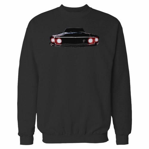 Your 1969 ford mustang boss 302 crewneck sweatshirt just got an update. This super comfortable and lighter weight crewneck will become your favorite go-to sweatshirt. The cozy spandex cuffs and waistband make this pill-resistant sweatshirt a fan favorite.And your group will look and feel their best in this premium ringspun cotton crew.