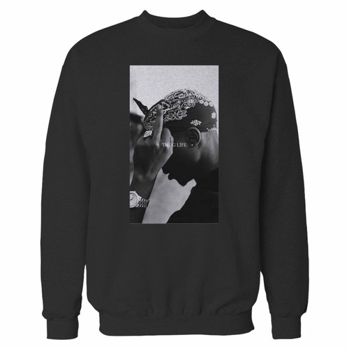 Your 2pac shakur trust nobody 2 crewneck sweatshirt just got an update. This super comfortable and lighter weight crewneck will become your favorite go-to sweatshirt. The cozy spandex cuffs and waistband make this pill-resistant sweatshirt a fan favorite.And your group will look and feel their best in this premium ringspun cotton crew.