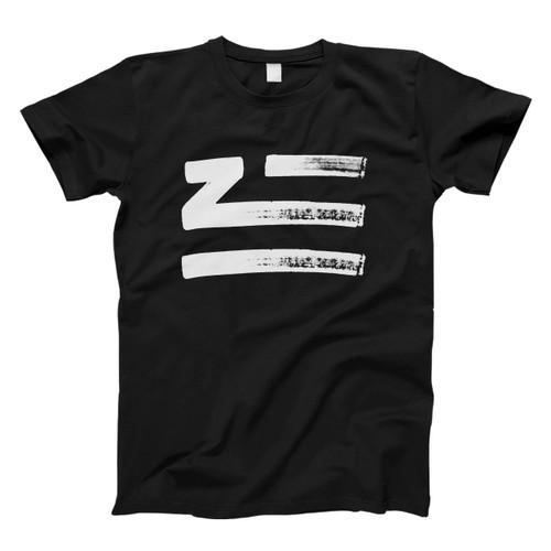 Zhu Logo Brush Classic Men T Shirt