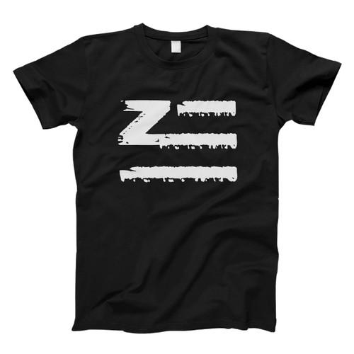 Zhu Logo Brush Classic Oriental Men T Shirt