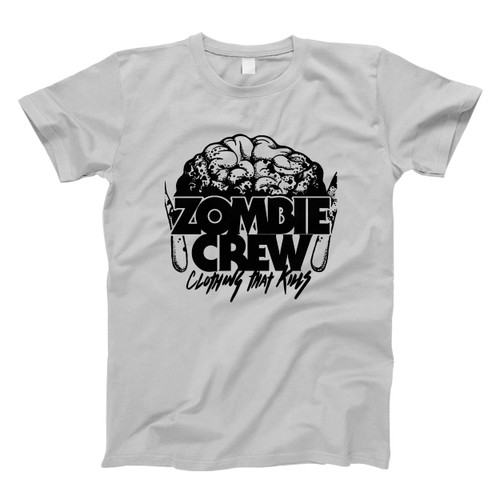 Zombie Crew Brain Clothing Men T Shirt