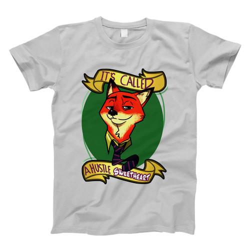 Zootopia Nick Wilde A Hustle Sweetheart Men T Shirt